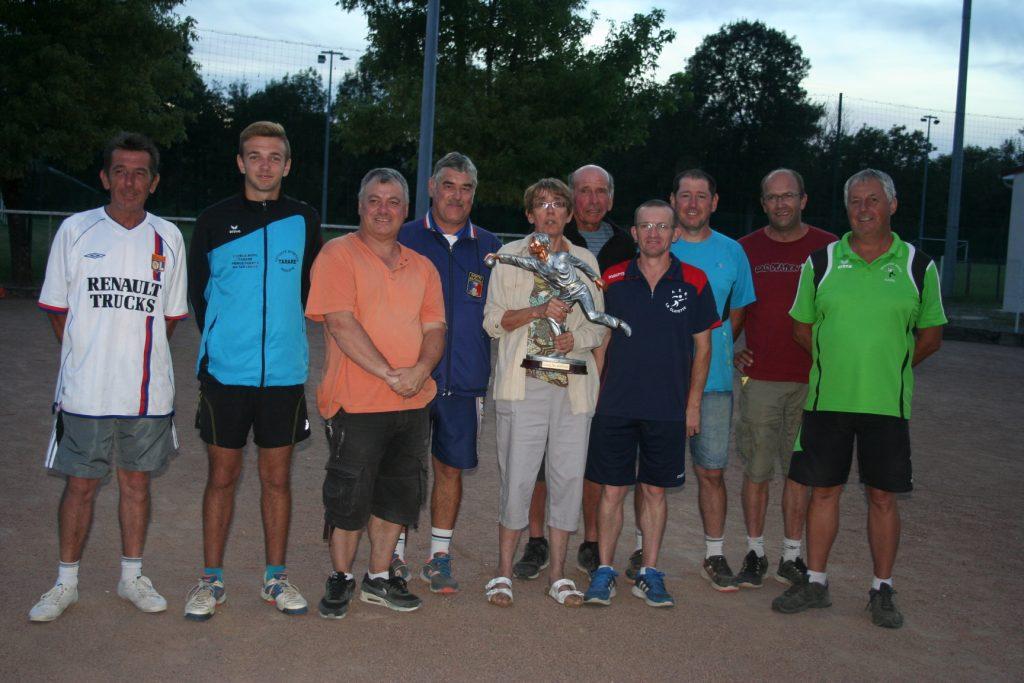 Résultat concours 01/08/2016 - La Boule Clayettoise