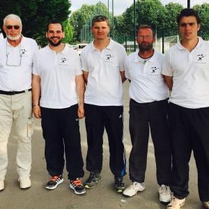 Concours à Lyon - La boule clayettoise