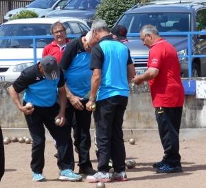 Éliminatoires à Coublanc - La boule clayettoise