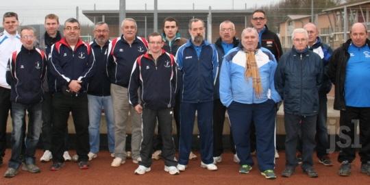 Équipe A S 2015 - La boule clayettoise