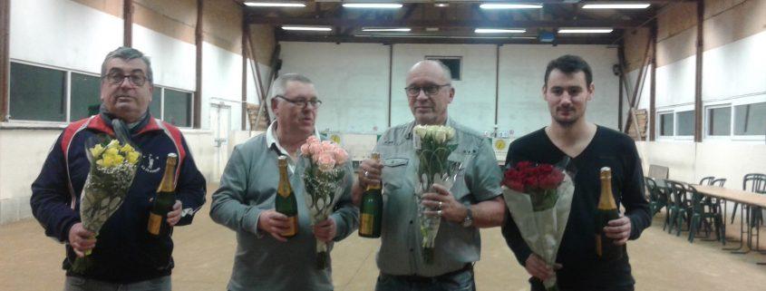 Vainqueurs rencontre Châtillon-La Clayette