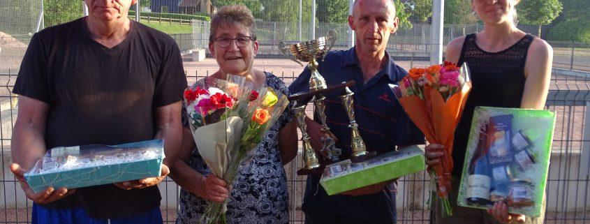 Coupe Baizet 2017 - Les vainqueurs - La boule Clayettoise